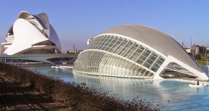 Ciudad de las Artes y las Ciencias.