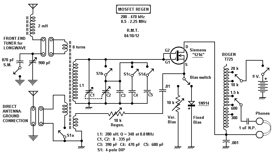 radio schematic steve