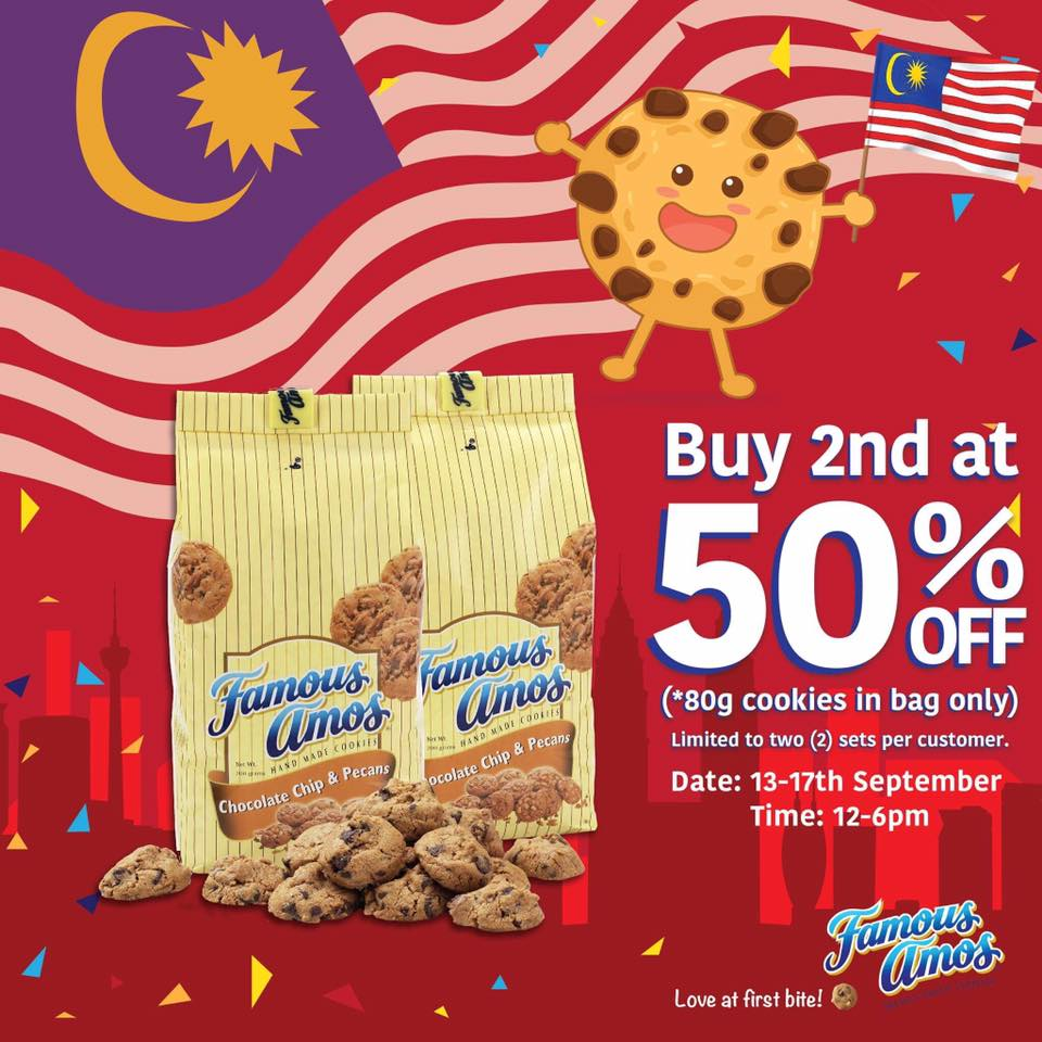 Coupon Malaysia Voucher Makan Papparich Day Exclusive Buy 1 And Get Your 2nd Pack At 50 Off Applicable To 80g Cookies In Bag Only