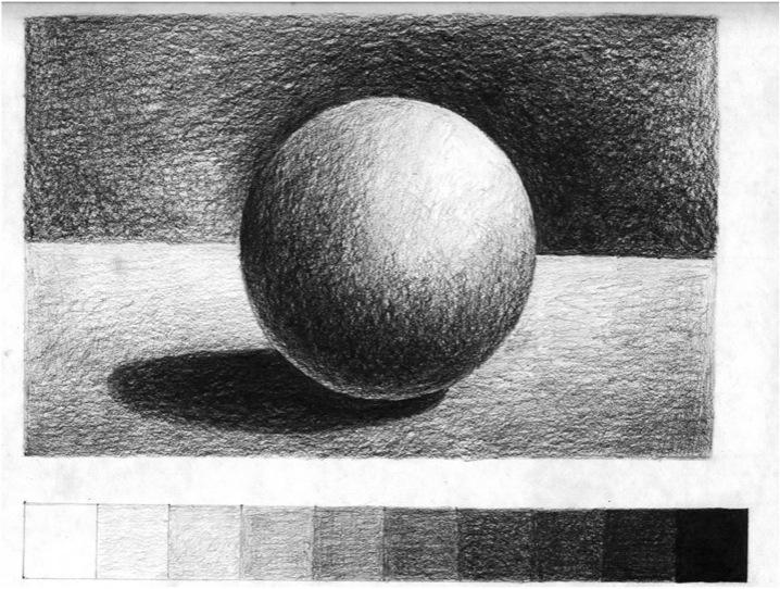 Jika kalian senang menggambar value adalah hal terpenting yang harus kalian pelajari karena value sangat berbengaruh pada kerealistikan gambar