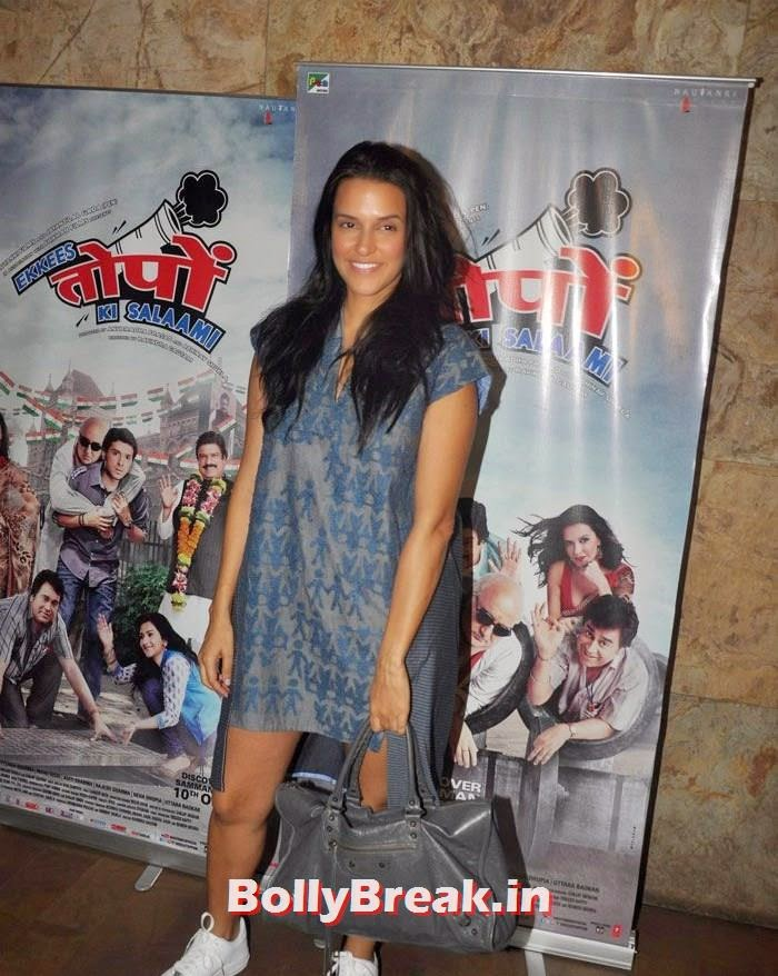 Neha Dhupia, 'Ekkis Topon Ki Salami' Special Screening Photos