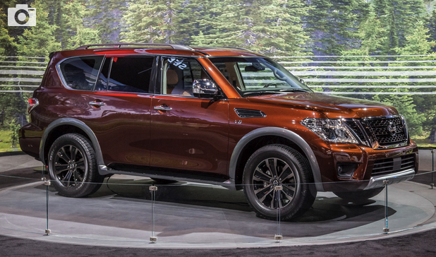 2018 Nissan Armada: Finally, a Redesign! Review - Cars ...