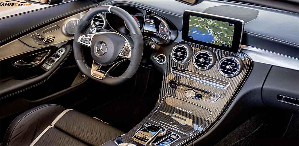 Mercedes-AMG C63 S Cabriolet INTERIOR