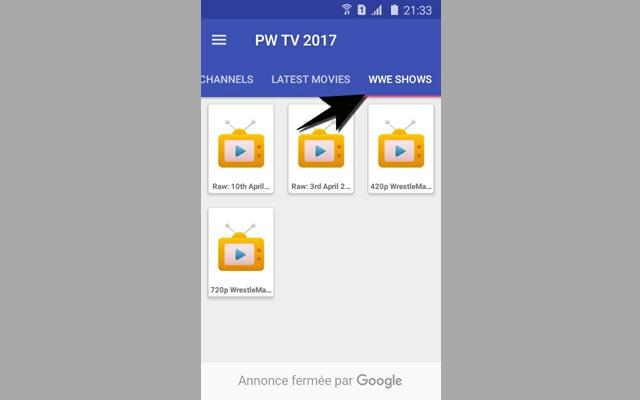 تطبيق خرافي لمشاهدة جميع قنوات Beinsport و قنوات الأفلام الغربية المترجمة و آخر عروض WWE مجانا في تطبيق واحد على هاتفك