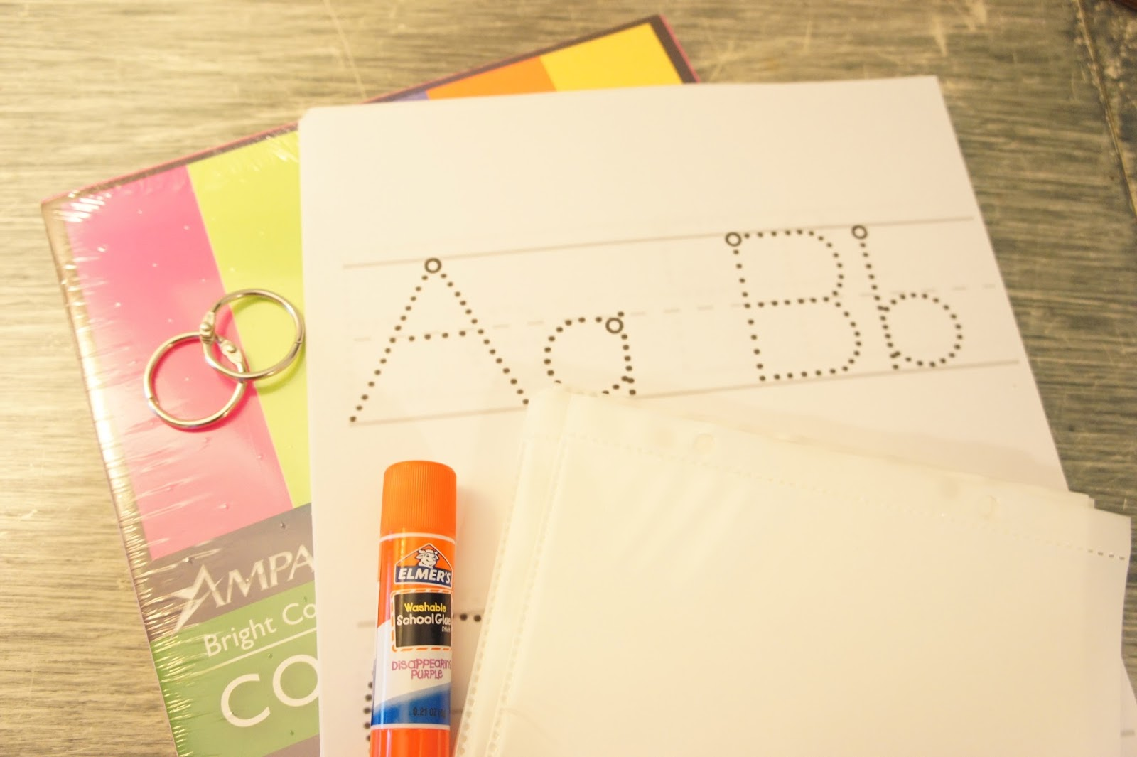 Dry Erase Abc Tracing Book