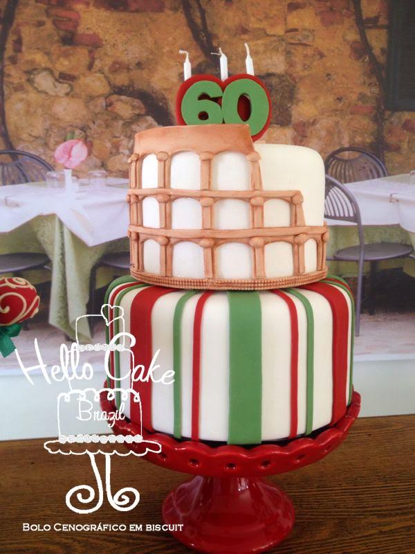 Bolo Coliseu da Itália da HELLO CAKE BRAZIL 9d8e600559ee5