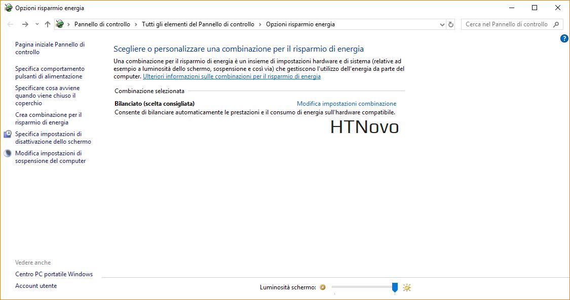 È sparita l'icona della batteria windows 10