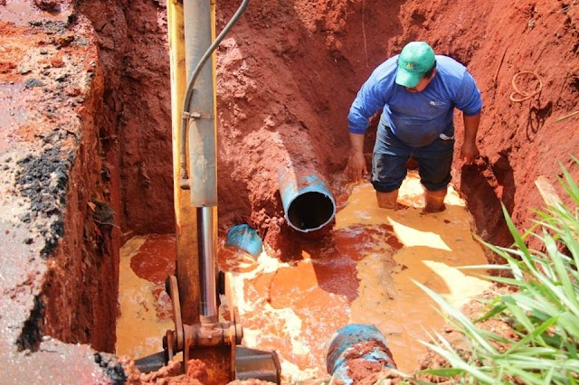 Senador Canedo: Recuperação de adutora rompida soluciona falta de água