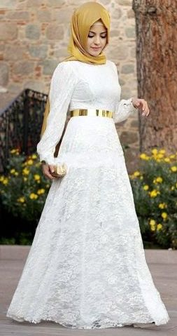 Baju Lebaran Putih Cewek Yang Cantik