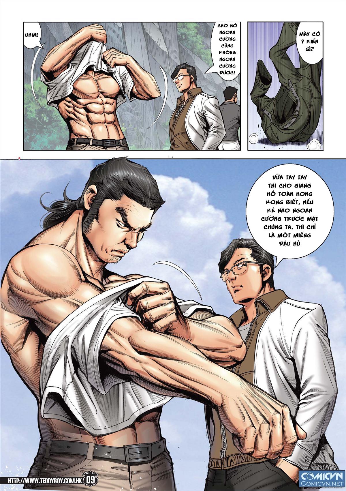 Người Trong Giang Hồ chapter 2148: tiểu mã vs gia đằng nhị trang 7