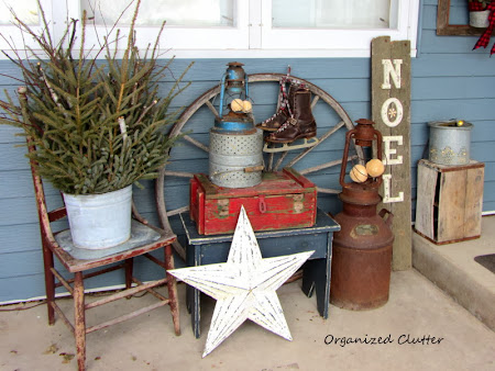 Junky Rustic Front Porch