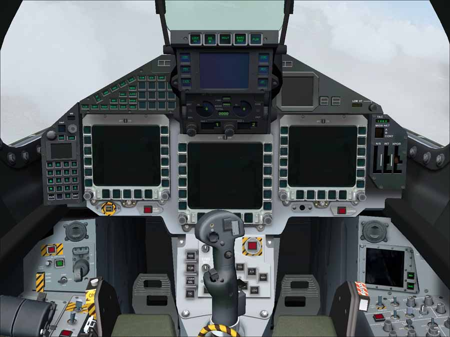 Cool Jet Airlines: Eurofighter Typhoon cockpit