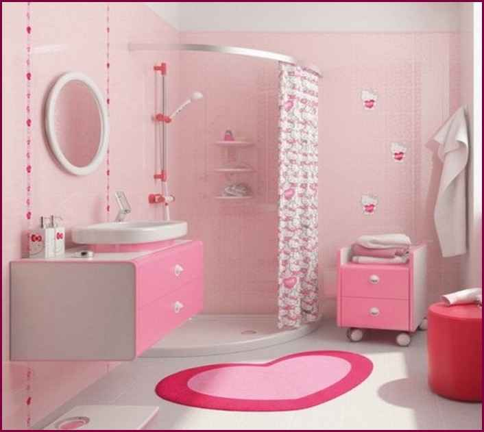 Amazing Hello Kitty Bathroom Design