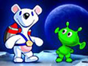 تحميل لعبة مغامرات الدب فى الفضاء Milky Bear Rescue Rocket كاملة
