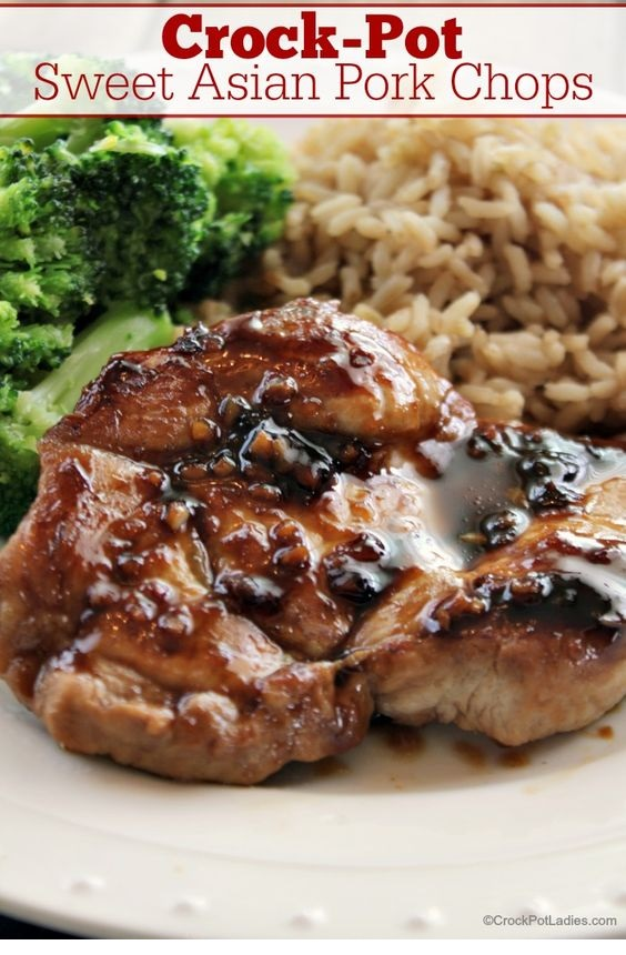 Crock-Pot Sweet Asian Pork Chops Recipe