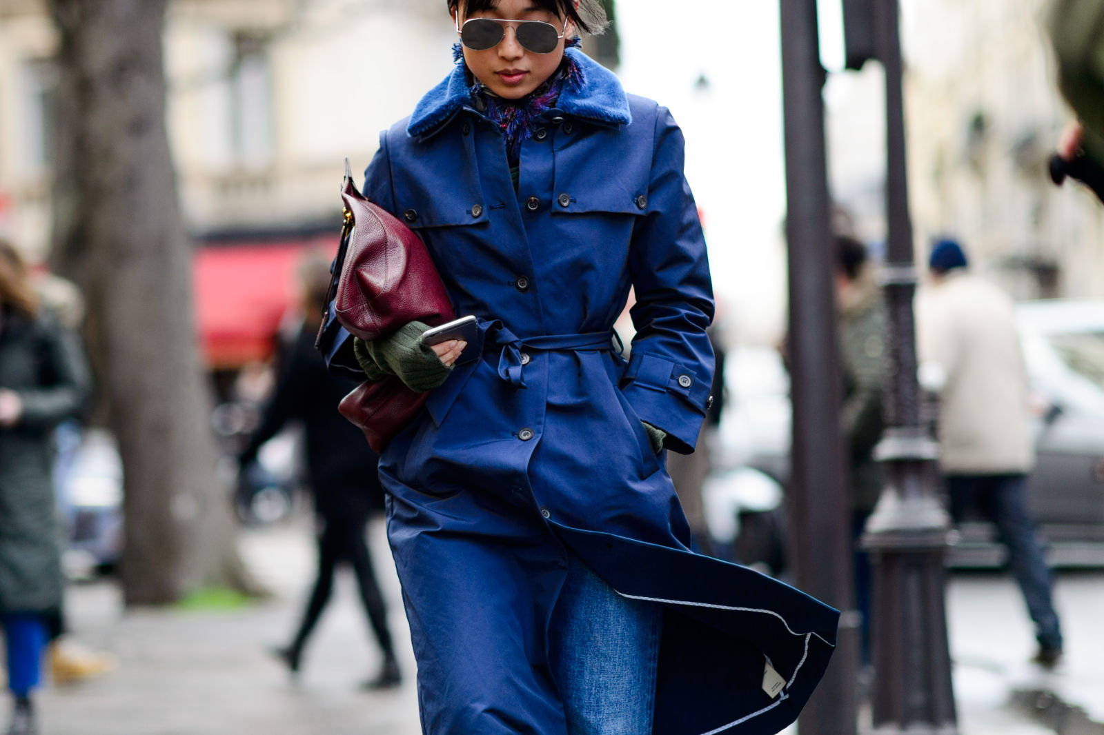 Margaret Zhang - Paris Fashion Week Street Style - Elle