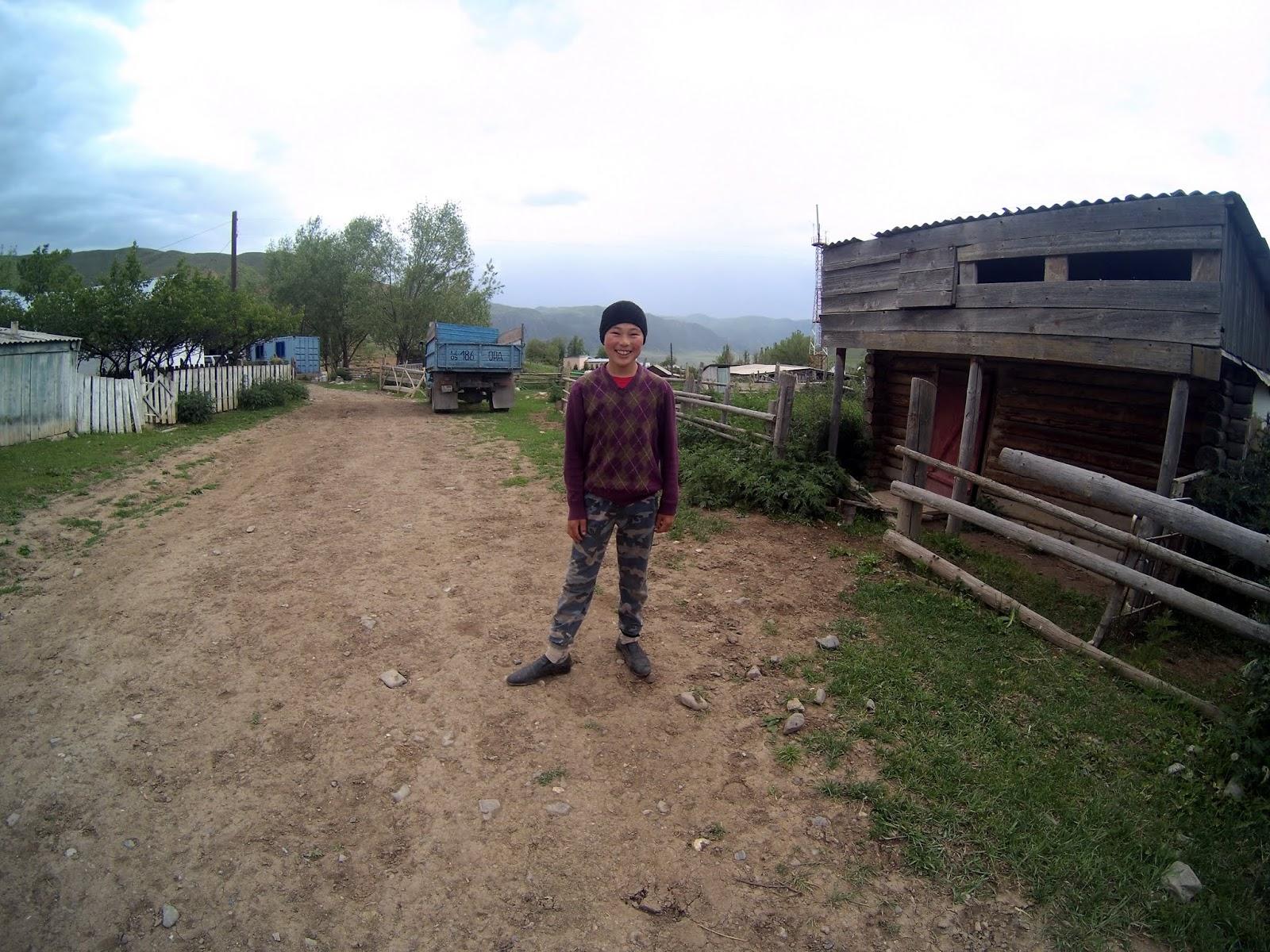 wioska Kurmeti obok Saty
