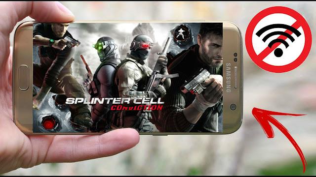 حصريا ! تحميل لعبة الأكشن الرهيبة Tom Clancy's Splinter ( بدون أنترنت ) لا يفوتك  للأندرويد 2018