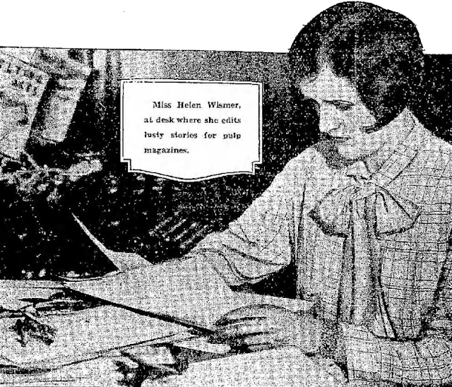 Helen Wismer, pulp editor c. 1933