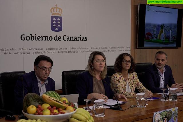 El plan canario sobre consumo de frutas y verduras en los colegios llegará este curso a 86.207 escolares de 413 centros