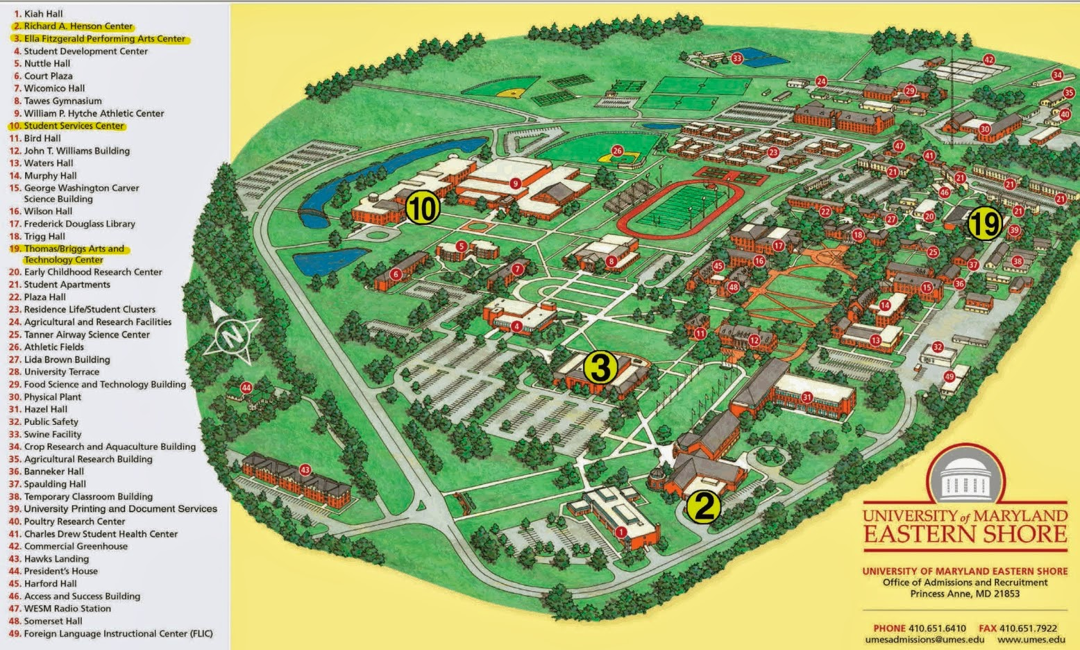 Umes Campus Map | Time Zone Map on marshall map, lafayette map, lipscomb map, mercer map, austin peay map, xavier map,