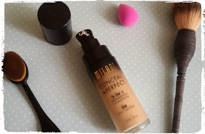 review milani foundation conceal and perfect 4