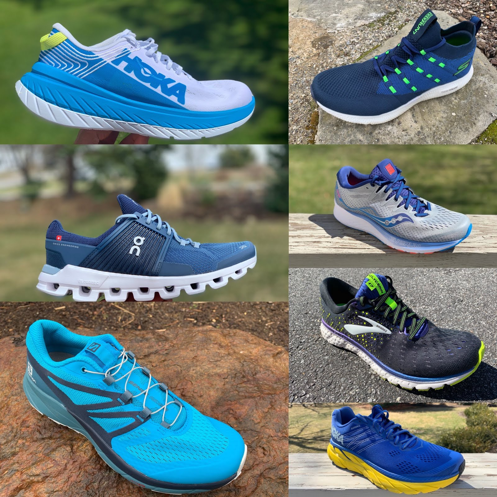 Blue Warm And Windproof Straightforward Brooks Caldera 2 Mens Trail Running Shoes Athletic Shoes
