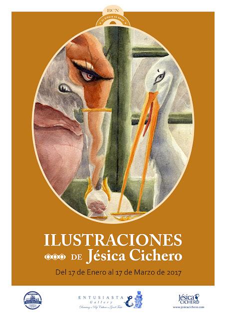 par la dessinatrice argentine Jésica Cichero à Barcelone.