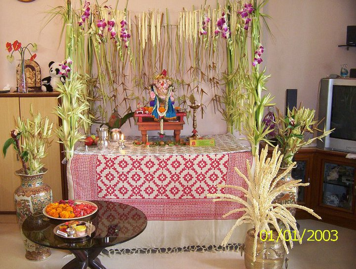 Images Of Ganpati Decoration Ideas | Joy Studio Design ...