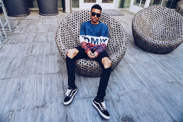 mens fashion tommy jeans sweatshirt quay sunglasses mens street style tommy Hilfiger