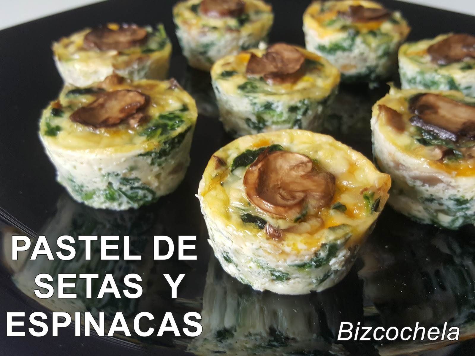 Pastel de setas y espinacas for Cocinar espinacas
