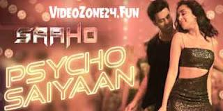 PSYCHO SAIYAAN-LYRICS | SAAHO Image