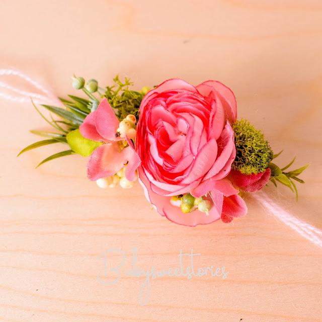 Newborn Headband,Flower Headband,Newborn photographer, prop vendor,  weddling flowers, wedding headband, flower decor, Newborn Tieback, Photo Prop,  Headwrap, Halo, kelly brown, ana brandt