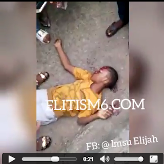 Video Footage Of Innocent Boy Murdered At Eke Ukwu Owerri Over Demolition Of The Market