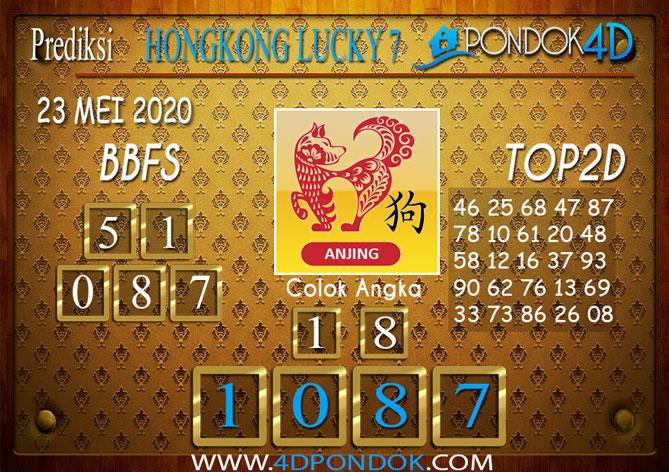 Prediksi Togel HONGKONG LUCKY 7 PONDOK4D 23 MEI 2020