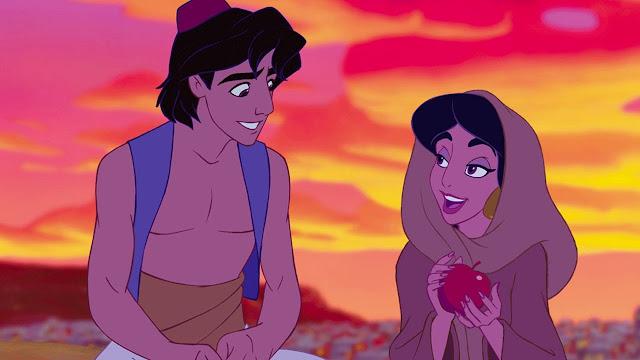 Aladdin e jasmine filme 1992