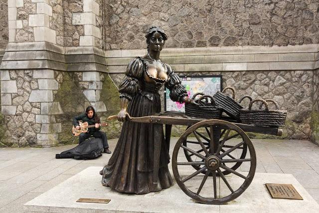 Molly Malone en Dublín