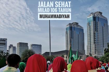 Jalan Sehat Milad 106 Muhammadiyah - Ta'awun Untuk Negeri