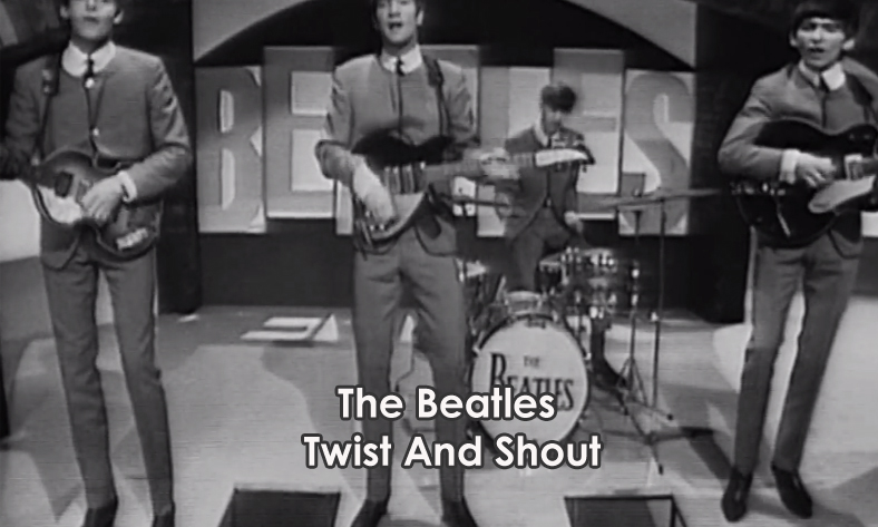 Lyrics Twist And Shout The Beatles With Chords and Video   Lyrics ...