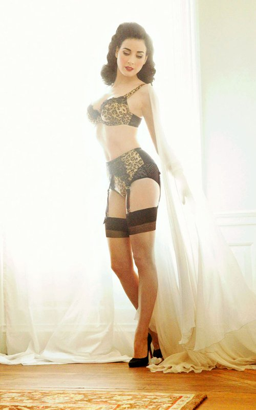 4357d9ad064 Dita Von Teese Launches Von Follies Lingerie Line