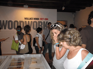 Woodwork - Exhibition in Majorca, Spain, Comic art, drawing inking