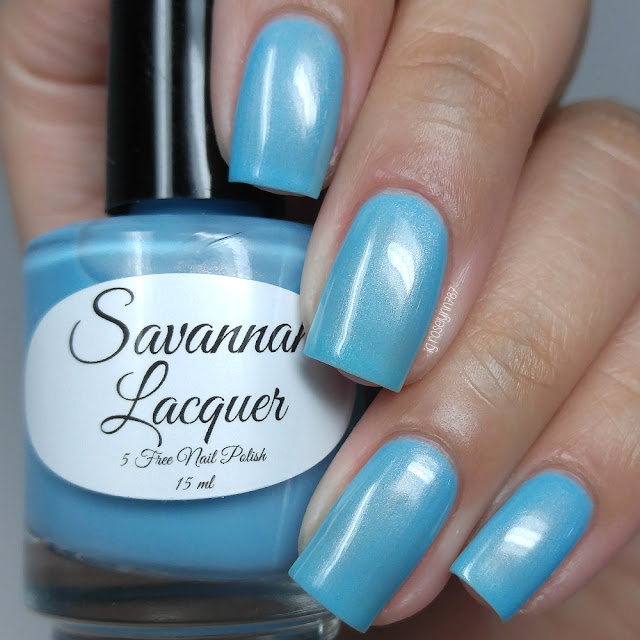 Savannah Lacquer - Blue Raspberry Taffy
