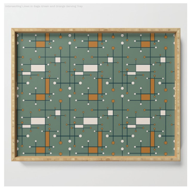 Modern Bamboo Tray design by Mel Fischer