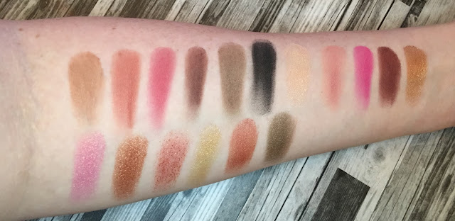 Revolution Pro Revelation Palette ( Huda Beauty Rose Gold Alternative)