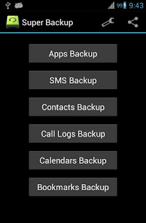 Super BackUp Android