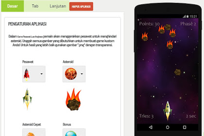 Cara Membuat Game Android Sendiri Tanpa PC Dan Coding