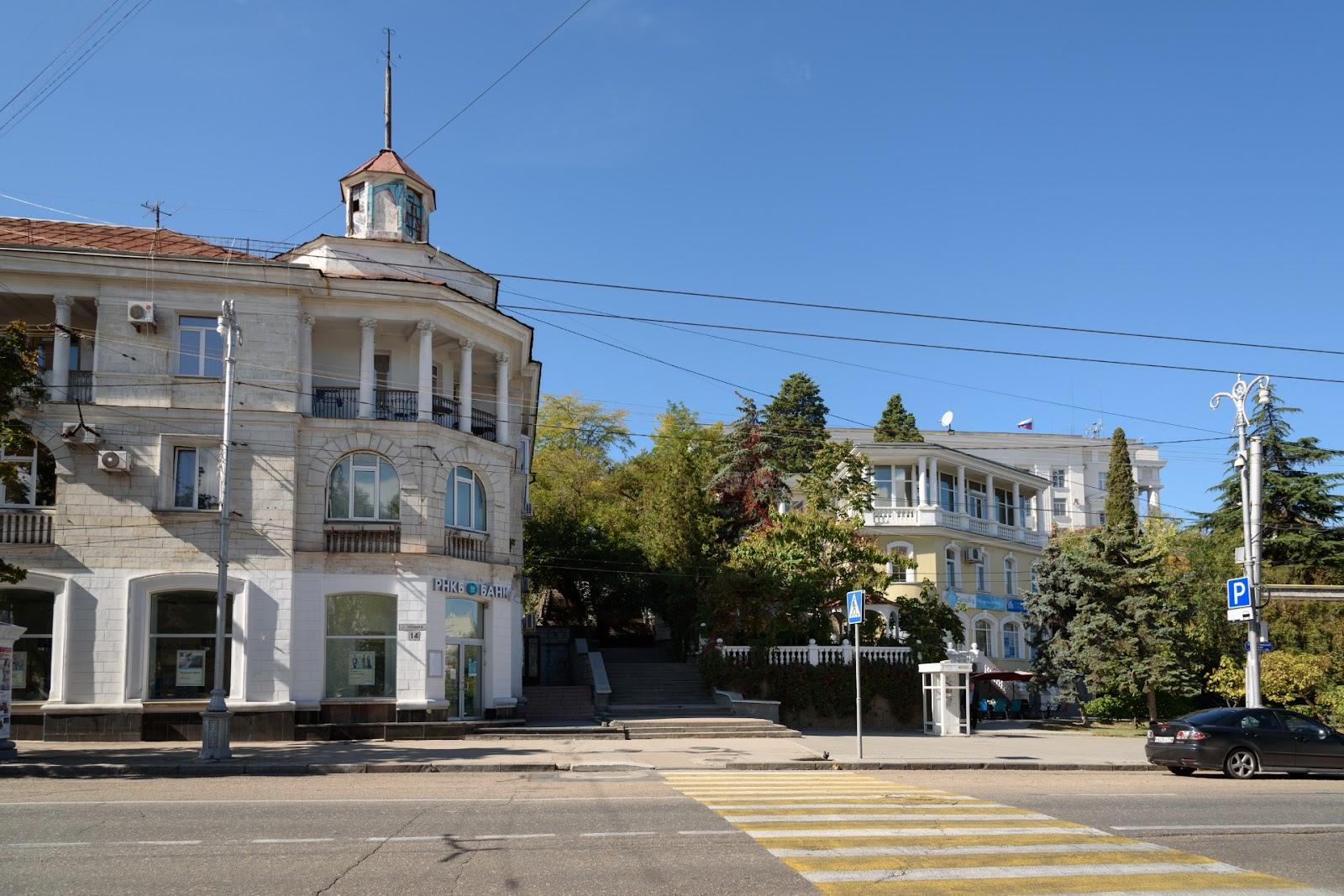 Улица в Севастополе