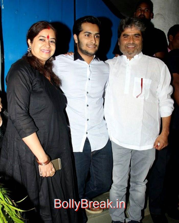 Rekha Bhardwaj, Vishal Bhardwaj, Celebs At Deepika Padukone's Piku Grand Success Bash Photo Gallery