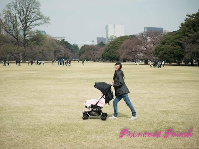 新宿御苑綠油油的大草原