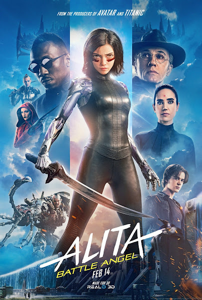 Poster of Alita: Battle Angel (2019) Dual Audio [Hindi-DD5.1] 720p BluRay ESubs Download